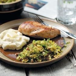 Photo of Brussels Sprouts with Pecans by Taste of Home Test Kitchen