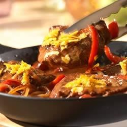 Photo of Sirloin, Pepper and Onion Skillet by Campbell's Kitchen