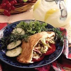 Photo of After School Veggie Pita by Mann's Fresh Vegetables