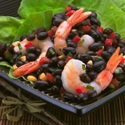 BUSH'S(R) Silk Road Black Bean Salad Recipe