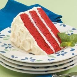 Photo of Classic Red Velvet Cake by Katie  Sloan
