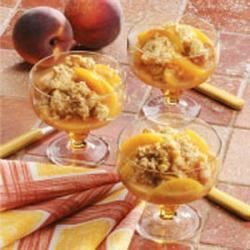 Photo of Cinnamon Peach Crisp by Leona  Luecking