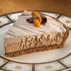Photo of Fudge Bottomed Chocolate Layer Pie by HersheysKitchens.com