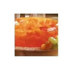 Low Calorie Sparkling Mandarin Orange-Pineapple Mold