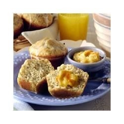 Lemon Glazed Poppy Seed Muffins Recipe