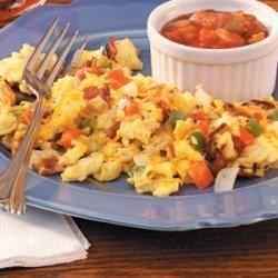 Photo of Fiesta Scrambled Eggs by Kay Kropff