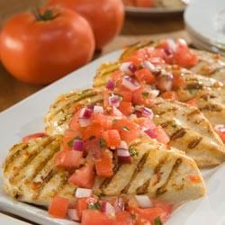 Marinated Chicken Bruschetta Recipe