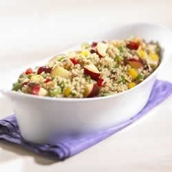 Photo of California Plum and Quinoa Salad by EatCaliforniaFruit.com
