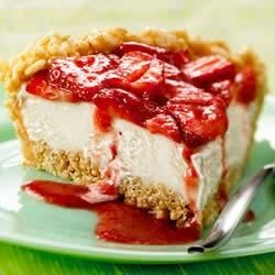 KELLOGG'S* RICE KRISPIES* Strawberry Ice Cream Pie