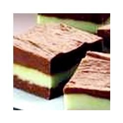 Layered Mint Chocolate Fudge Recipe