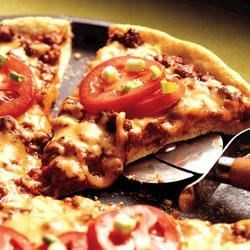 Cheesy Sloppy Joe Pizza Recipe