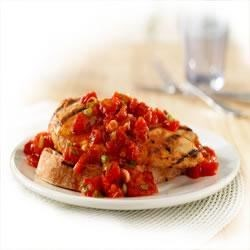Hunts(R) Bruschetta Chicken Grill Recipe