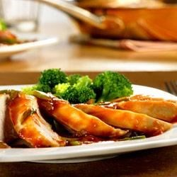 Maple Rum-Glazed Chicken Recipe