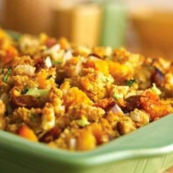 Roasted Vegetable and Cornbread Stuffing Recipe