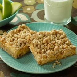 Caramel Apple Crunch Bars Recipe
