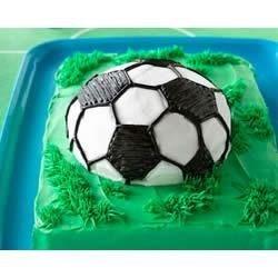 Soccer Ball Cake Recipe