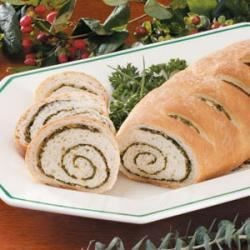 Photo of Herb Swirl Bread by Laura  Dix