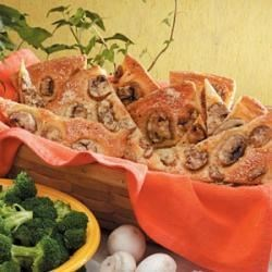 Photo of Mushroom Bread Wedges by Patricia  Mele
