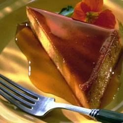 Pumpkin Caramel Flan Recipe
