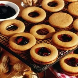 Photo of Peanut Butter and Jelly Sandwich Cookies by SMUCKER'S®