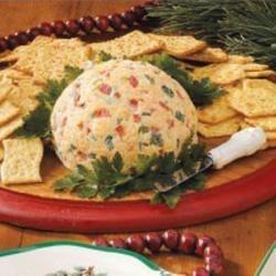 Photo of Christmas Cheese Ball by Sundra  Hauck