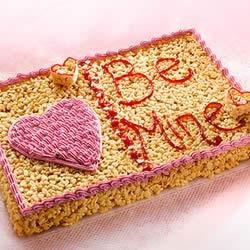 KELLOGG'S* RICE KRISPIES* Valentine Greetings Recipe