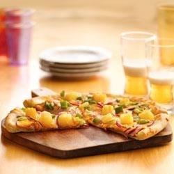 Photo of Canadian Bacon and Pineapple Pizza by Pillsbury® Pizza Crust
