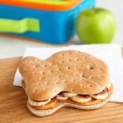 PB and J with Banana Sandwiches Recipe