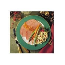 Baked Ham with Orange & Ginger Glaze Recipe