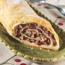 Chocolate Walnut Strudel