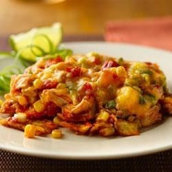 Cheesy Enchilada Casserole Recipe