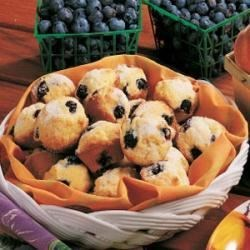 Photo of Blueberry Mini Muffins by Suzanne  Fredette