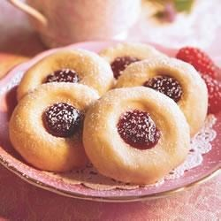 Easy Linzer Thumbprints