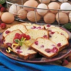 Photo of Raspberry Lemon Loaf by Carol  Dodds