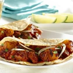 Photo of Home-style Tacos al Pastor (Chile and Pineapple Pork Tacos) by Goya