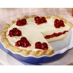 Cherry Vanilla Ribbon Pie