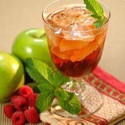 Raspberry Tea Sparkler Recipe