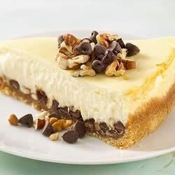 KELLOGG'S* RICE KRISPIES* Chocolate-Caramel Cheesecake Recipe
