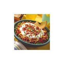 BUSH'S(R) Layered Barbecue Bean Dip Recipe
