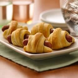 Mini Crescent Dogs