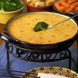 First and Goal Cheddar and Tomato Ranch Fondue Recipe - Allrecipes.com