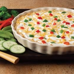 Fiesta Baked Cheese Dip Recipe