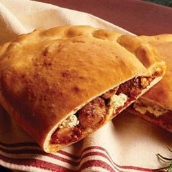 Party Size Sausage Calzone Recipe