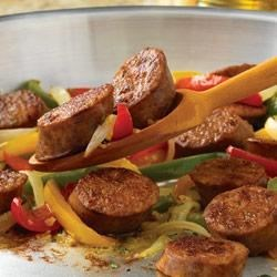 Johnsonville(R) Italian Sausage and Pepper Skillet Recipe