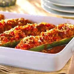 Photo of Stuffed Zucchini by Campbell's Kitchen by Campbell's Kitchen