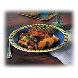 Photo of Jamaican Jerk Pork Chops with Island Salsa by McCormick® Gourmet Collection®