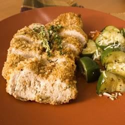 Dijon Breaded Roast Pork Tenderloin with Thyme