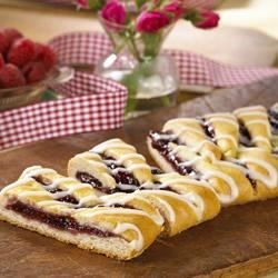 Photo of Raspberry Breakfast Braid by SMUCKER'S®
