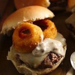 Mushroom Swiss Burgers Recipe