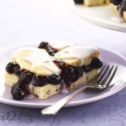 Easy Blueberry Shortbread Recipe